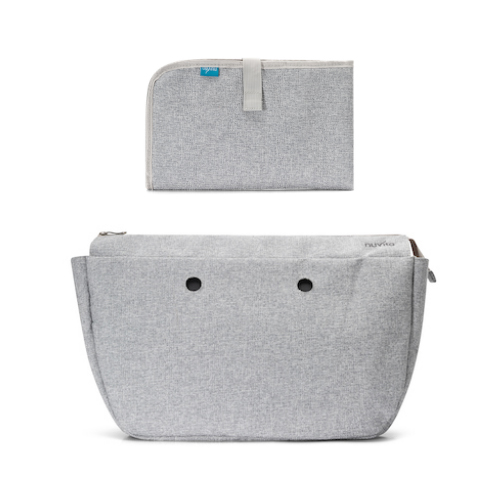 8802-Mother's-bag-internal-container-with-organised-spaces-and-changing-mat-Light-Grey
