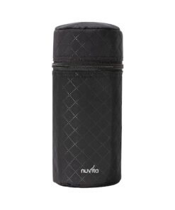 8805-Baby-bottle-holder-with-thermal-interior-Quilted-Black
